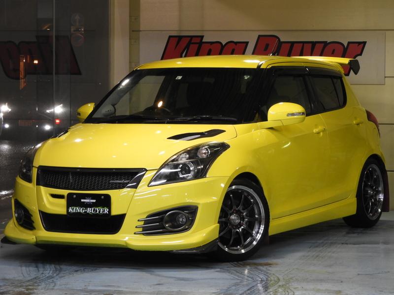 スズキ スイフト スポーツ ディスチャージヘッドランプ装着車